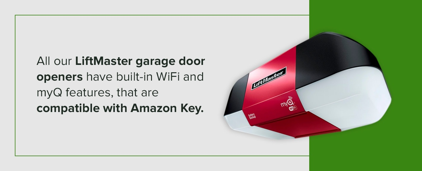Which garage openers are compatible for Amazon garage delivery